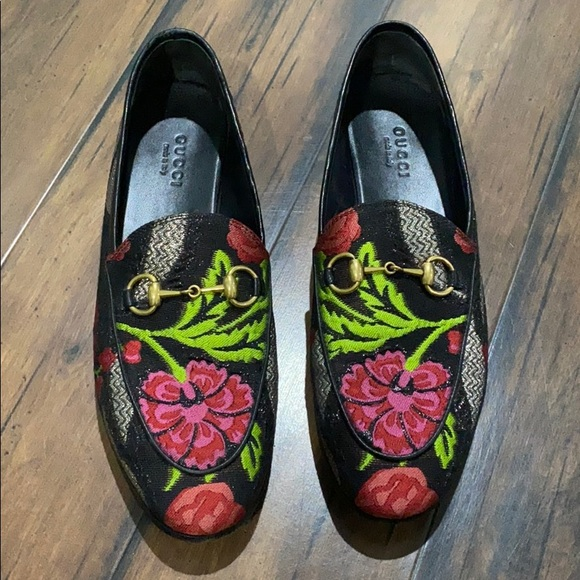 Gucci Shoes   Authentic Flower Loafers